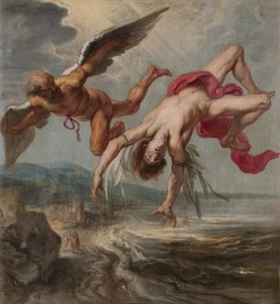 Image of Icarus and Daedalus